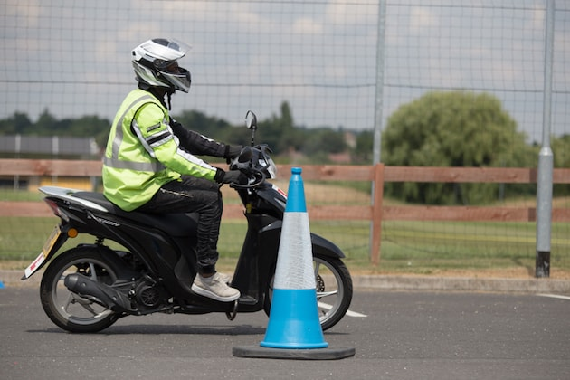 Motorcycle CBT test