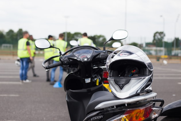Get your motorcycle licence - bike plus helmet