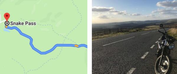 Snake Pass Map