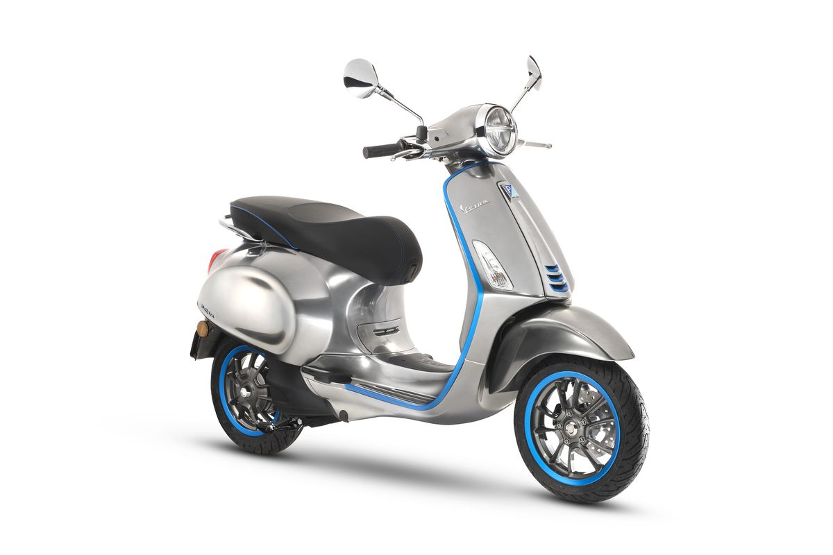 The New Vespa Elettrica