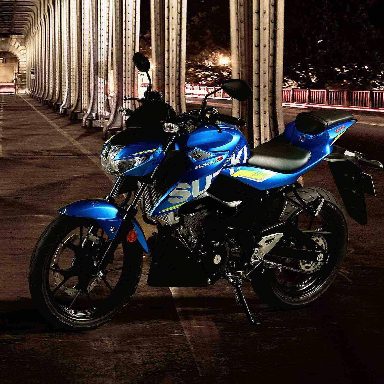 Suzuki GSX-S125 Blue Bike
