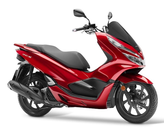 The Honda PCX 125